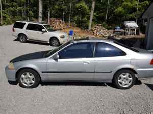 1998 Honda Civic SI  $500 0r TRADE for aluminum boat and trailer