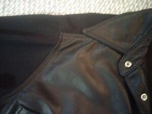 Men's Medium Netu/Neto Made in Canada Leather/Poly Jacket Prince George British Columbia image 5