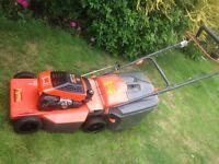 Flymo petrol lawnmower Ventura turbo 420xl