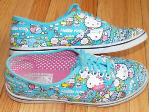 Vans Hello Kitty True Blue Shoes Women's Size 7