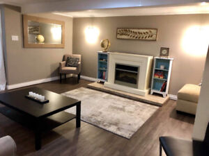 Short term rental-lower level of house- 2 bed