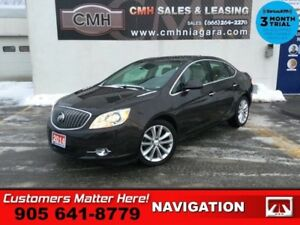 2014 Buick Verano Leather Package  NAV ROOF LEATH BOSE P/SEATS H