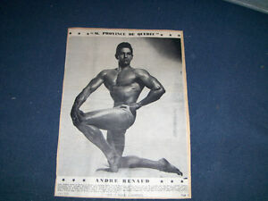 ANDRE RENAUD-1955 FULL PAGE-WEIDER-M. PROVINCE DE QUEBEC