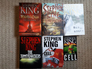 Stephen King Book lot