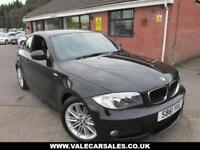 2012 61 BMW 1 SERIES 118D M SPORT 2 DR DIESEL