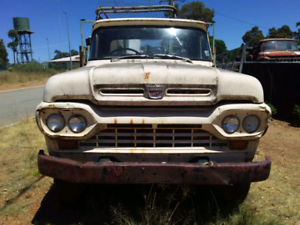 Ford F600/ F100 1959 cab and front panels suit Rat Rod