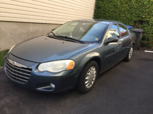 2005 Chrysler Sebring Touring Berline