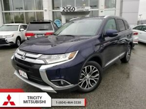 2017 Mitsubishi Outlander GT  - WITH LEATHER, SUNROOF, 7 SEATS V