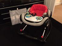 Car baby walker / rocker