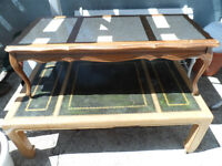 2 tables salons-2 coffee tables