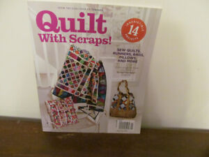 """Quilting """"Quilt with Scraps"""" Book No 38"""