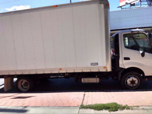 2012 Hino 195 TRUCK with 20 ft box ON SALE