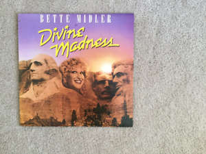 Bette Midler in Divine Madness 33 1/3 RPM vinyl LP