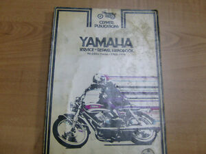 YAMAHA 90-350 TWO STROKE TWINS CLYMER WORKSHOP MANUAL