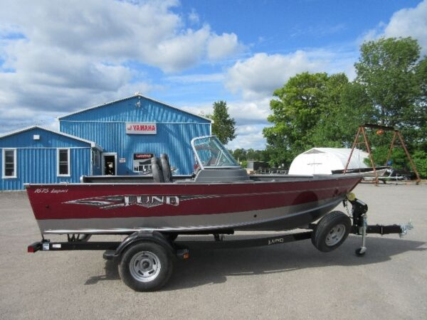 Used 2015 Lund Boat Co 1675 Impact Sport