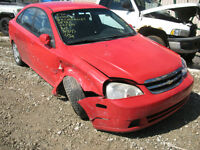 2005 CHEVY OPTRA FOR PARTS AT PIC N SAVE WOODSTOCK!!!!!
