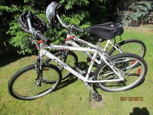 nearly new bikes, price reduced for pair