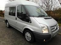 (NO VAT) '63 Ford Transit 260 SWB medium roof Trend 2.2, 125ps, 6 seat crewvan