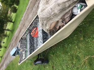 14 ft  aluminum Flat bottom boat