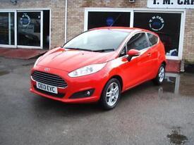 2013 Ford Fiesta 1.5TDCi Zetec 3d **Zero Tax**