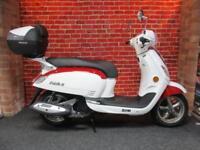 SYM FIDDLE III 200cc NEW FOR 2018 5 YEAR WARRANTY