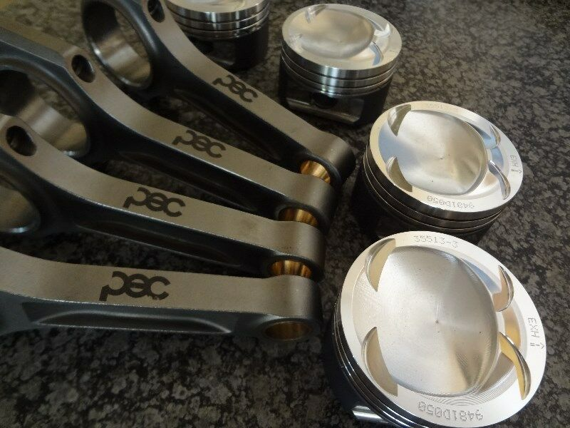 VW Scirocco / Golf / Polo / Audi A3 1.4L 16v TSI Forged Pistons & Steel Conrods