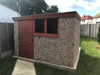 Concrete Shed/workshop £800 Ono cash on collect