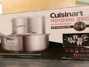 Cuisinart Professional Cookware 11 pc - just reduced