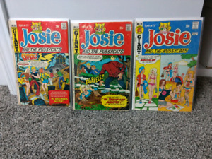 Josie and the Pussycats comics #65, 67, 70