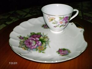 Sandwich Plates Tea Cups Tea Pots Dishes