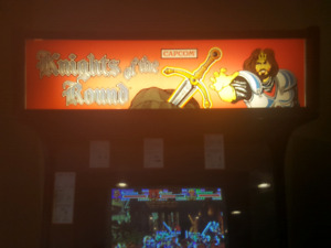 Knights of The Round Arcade Cabinet