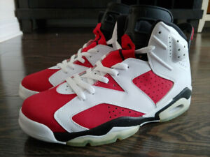 Air Jordan 6 (VI) Carmines DS (2008) Sz 9.5