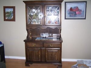 HUTCH FOR SALE W/ LIGHT