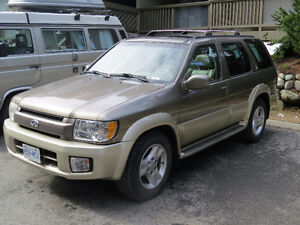 Nissan Infinity Qx4 2002 model - Luxury 4x4 SUV