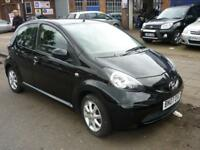 Toyota Aygo Black VVT-I 5dr PETROL MANUAL 2007/07