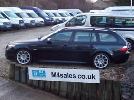 BMW 520d Diesel M Sport Touring Leather 2 Owners 177 BHP