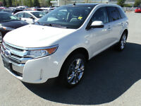2011 Ford Edge Limited SUV, Navigation, Sunroof, Leather