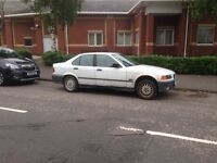 BMW e36 saloon shell no engine no exhaust 4 pot non ews delivery available drift skid