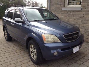 2003 Kia Sorento SUV, e-test included