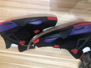 "AIR JORDAN 4 ""RAPTORS"" SIZE 11"