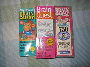 3 sets of Brain Quest cards.... St. John's Newfoundland image 1