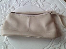 Next little cream handbag