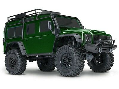 TRAXXAS TRX-4 Land Rover Crawler 1/10 2.4GHz Link Limited Edition Grün