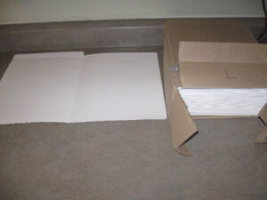 Box of 100 White Legal Folders + much more-$5 lot