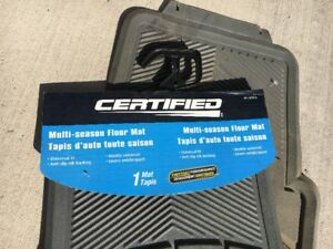 2 Certified Multi-Season Floor Mats for your Vehicle for Sale!