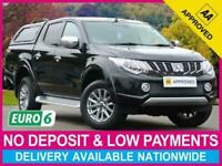 Used, 2018 67 MITSUBISHI L200 2.4 DI-D BARBARIAN DOUBLE CAB HARDTOP CANOPY for sale  Sheffield, South Yorkshire