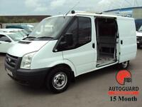 2008 FORD TRANSIT 2.2TDCi DURATORQ 85PS 300S LOW ROOF WHITE DIESEL LOW ROOF SWB