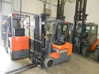 SMforklift fin de locations Cat Raymond Yale Hyster lease return