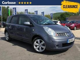2008 NISSAN NOTE 1.6 Tekna 5dr Auto Mini MPV 5 Seats