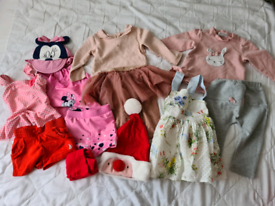 Baby girl bundle 3-6 (Mayoral, Disney, Next, Tu)